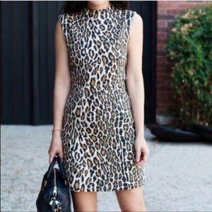 Beautiful leopard dress size 10